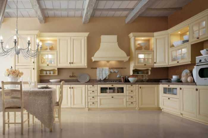 Бежевая кухня: ТОП-100 фото современного оформления в бежевых тонах. Особенности дизайна и выбор сочетаний для кухни