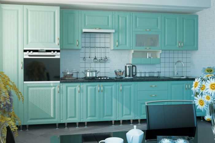Кухня бирюзового цвета: ТОП-150 фото модных идей дизайна кухни бирюзового цвета + обзоры стильных интерьеров