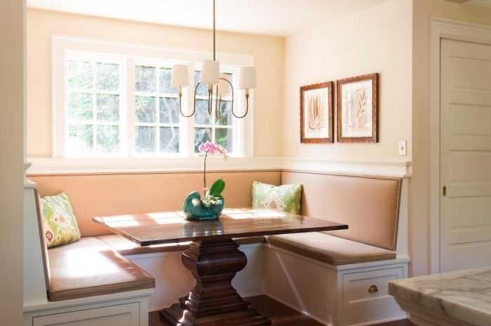 Диван на кухне — плюсы и минусы диванов на кухне. Новинки дизайна + фото-обзоры материалов и конструкций