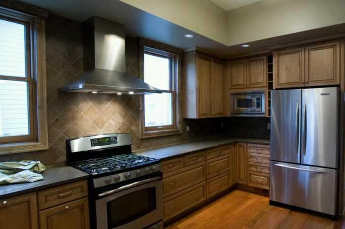 Дизайн кухни с холодильником: ТОП-160 фото и лучшие идеи дизайна + советы по выбору места расположения холодильника