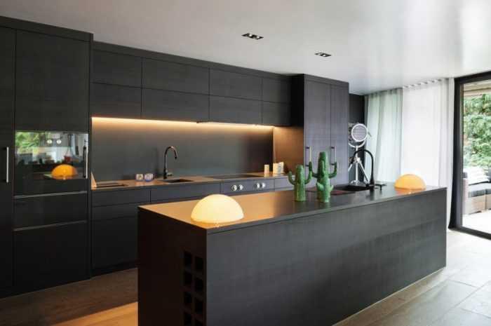 Фасады для кухни: лучшие идеи отделки фасадов, варианты оформления и декора кухни + 180 фото-обзоров