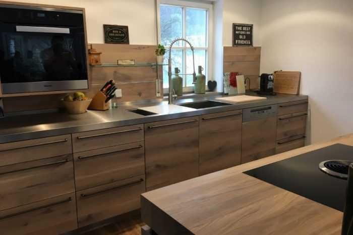 Кухни из дерева: ТОП-150 фото идей современного дизайна мебели, отделки и декора. Плюсы и минусы деревянной кухни