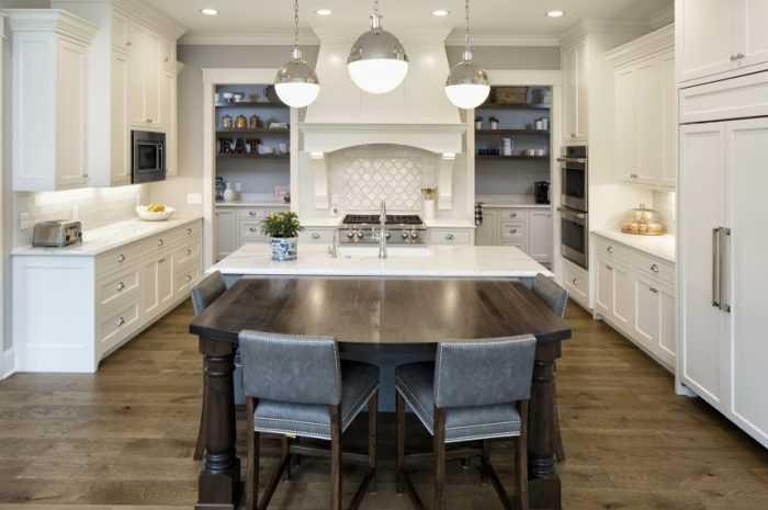Кухня 20 кв. м. — планировка кухни, варианты расстановки мебели. Новинки дизайна, стили оформления + фото-обзоры интерьеров