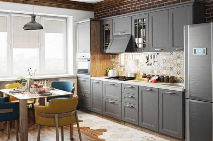 Кухня 9 кв. м.: ТОП-140 фото лучших идей обустройства. Зонирование, цвета, выбор мебели для интерьера