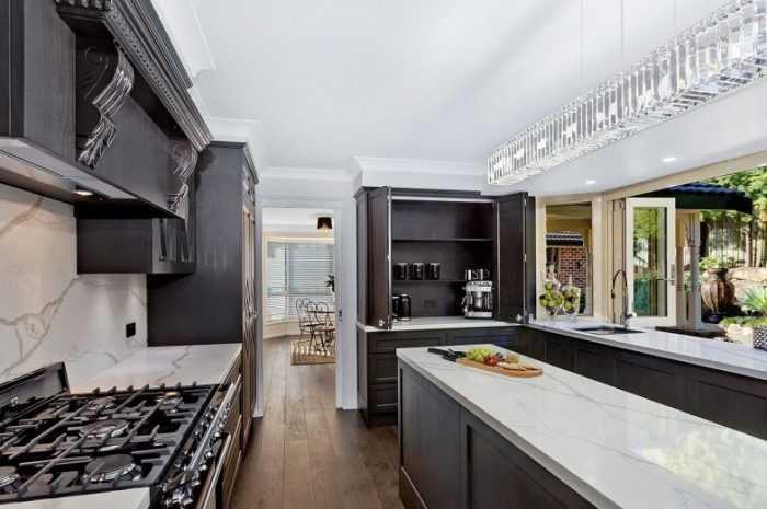 Кухня цвета венге: особенности оттенков, стилей и сочетания цвета. Идеи модного дизайна кухни с фото лучших примеров
