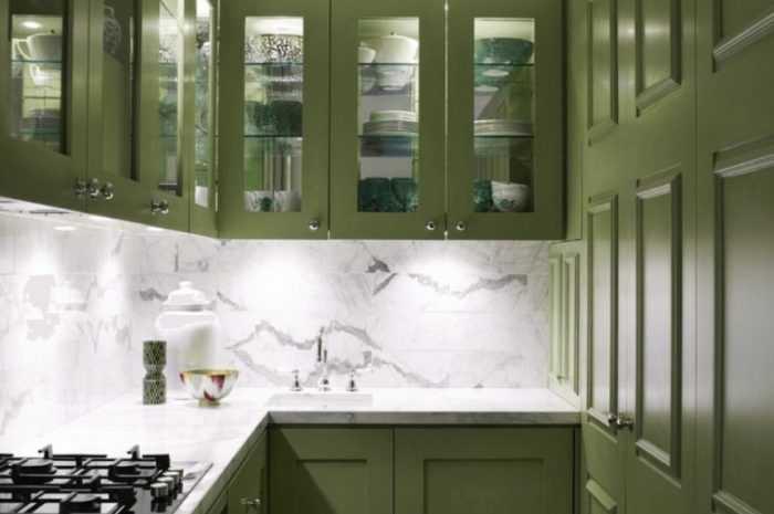 Кухня оливкового цвета: 100 фото лучших идей оформления оливковой кухни и цветовых сочетаний в интерьере кухни
