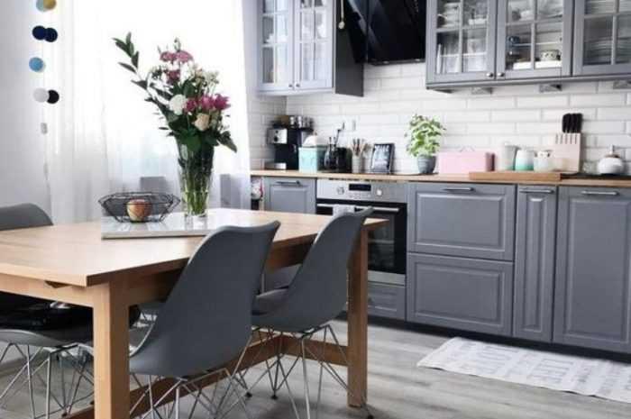 Кухня серого цвета — особенности использования серого цвета на кухне + 120 фото примеров сочетания