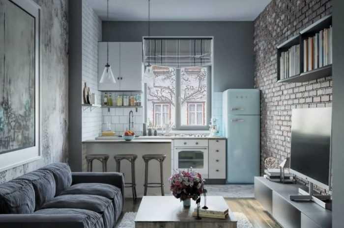 Кухня студия — 120 фото вариантов дизайна кухни студии. Идеи зонирования, планировки и оформления интерьера