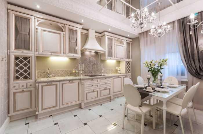 Кухня в классическом стиле — ТОП-140 фото интерьеров кухни в классическом стиле + варианты стильного оформления своими руками