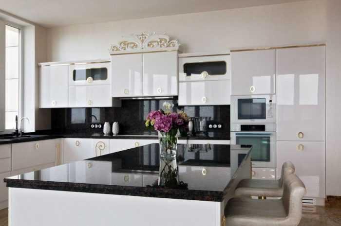Кухня в стиле арт-деко — ТОП-190 фото интерьеров кухни в стиле арт-деко + идеи стильного обустройства своими руками
