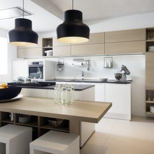 Кухня в стиле модерн — современные дизайнерские решения для оформления кухни. Выбор мебели и декора (150 фото)