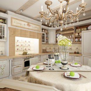 Кухня в стиле прованс — современные решения для оформления и дизайна кухни в стиле прованс + 170 фото-обзоров
