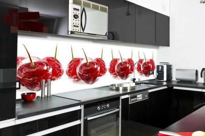Кухонные фартуки с фотопечатью: советы в выборе материалов + лучшие идеи дизайна рисунков с фото-примерами