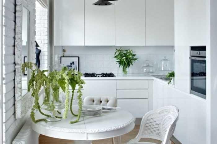 Маленькая кухня — советы и решения обустройства маленькой кухни + лучшие идеи дизайна с фото-обзорами интерьеров