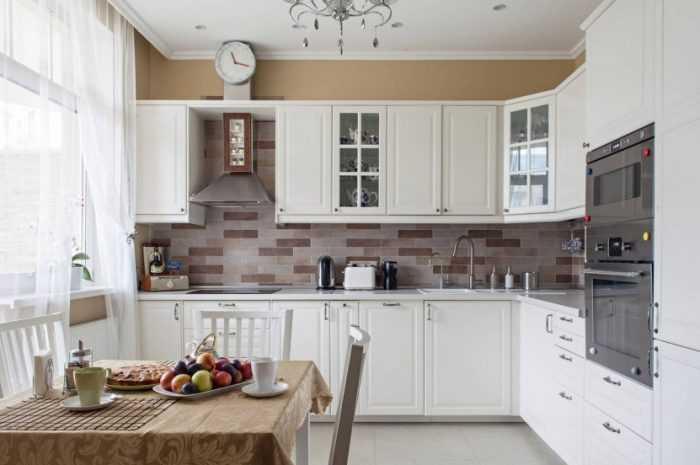 Модульные кухни: обзоры новинок дизайна. Варианты расположение мебели на кухне + 160 фото-примеров