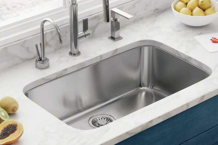 Мойка на кухне — советы по выбору вида мойки. Примеры современных интерьеров кухни с мойкой (150 фото)