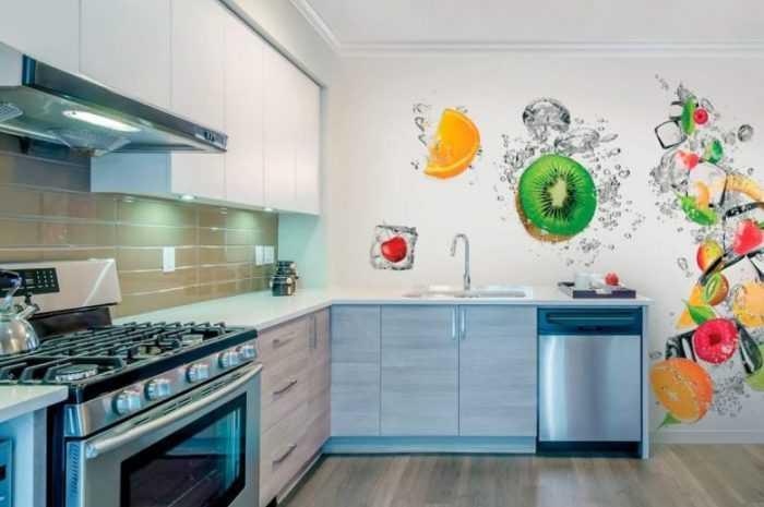 Обои для кухни: ТОП-120 фото лучших вариантов обоев для кухни с основными требованиями к выбору материала и стиля