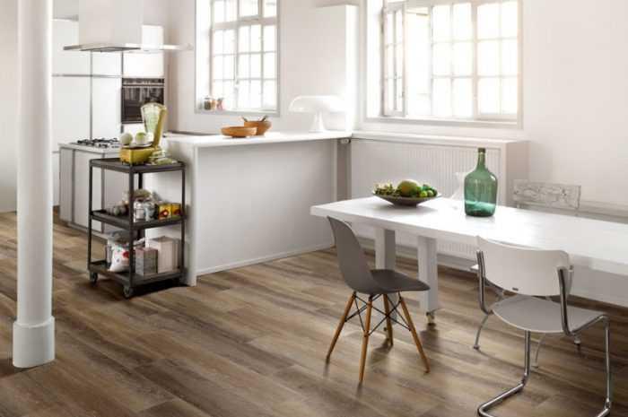 Пол на кухне: ТОП-140 фото идей покрытия, плюсы и минусы разновидностей. Выбор материалов отделки пола на кухне