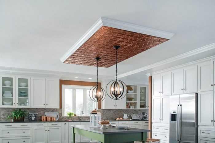 Потолок из гипсокартона на кухне — ТОП-190 вариантов оформления и дизайна потолка из гипсокартона на кухне + фото