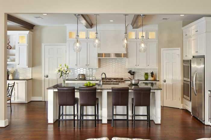 Проходная кухня: дизайн проектов и идеи оформления проходной кухни. Стильные решения планировки проходной кухни в фото-обзорах
