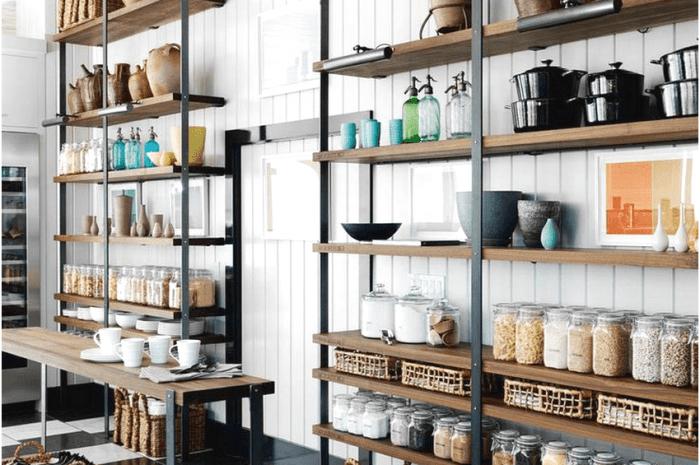 Стеллажи для кухни: пошаговые инструкции по выбору стеллажей для кухни + обзоры разновидностей (140 фото)
