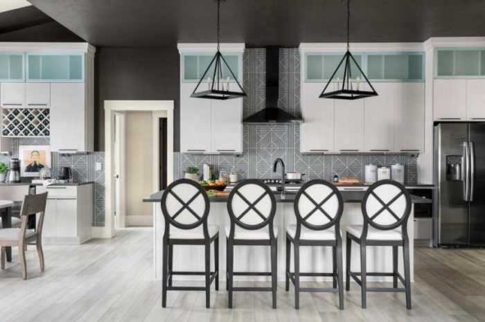Стулья для кухни — новинки дизайна стульев для кухни + фото-обзоры материалов и конструкций