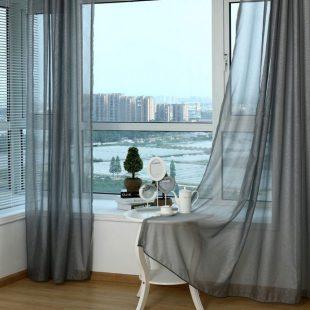 Тюль на кухню — стильные решения оформления штор. Лучшие идеи дизайна тюля в подробных фото-обзорах