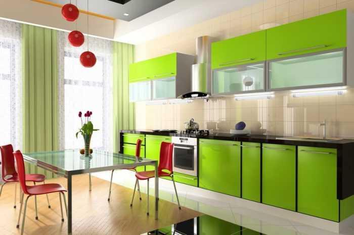 Зеленая кухня — лучшие сочетания и примеры использования зеленого цвета на кухне + 150 фото